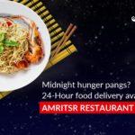 24-Hour food delivery at Amritsr Restaurant