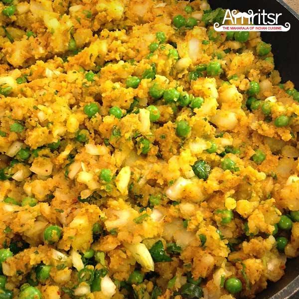 aloo (potato) masala stuffing