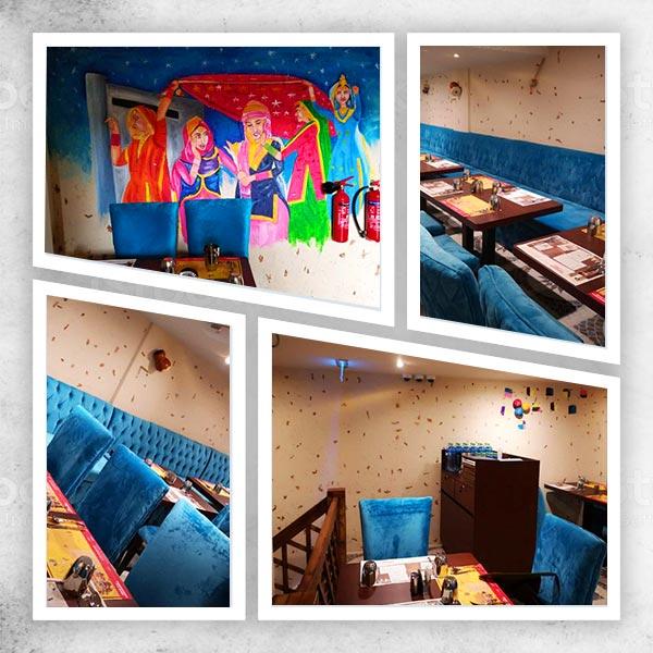 Ambience at Amritsr Restaurant