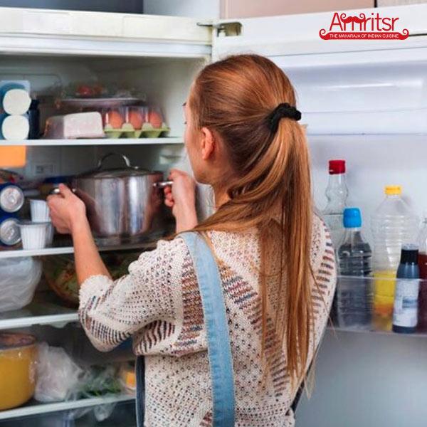 Leave paneer tikka mixture in fridge
