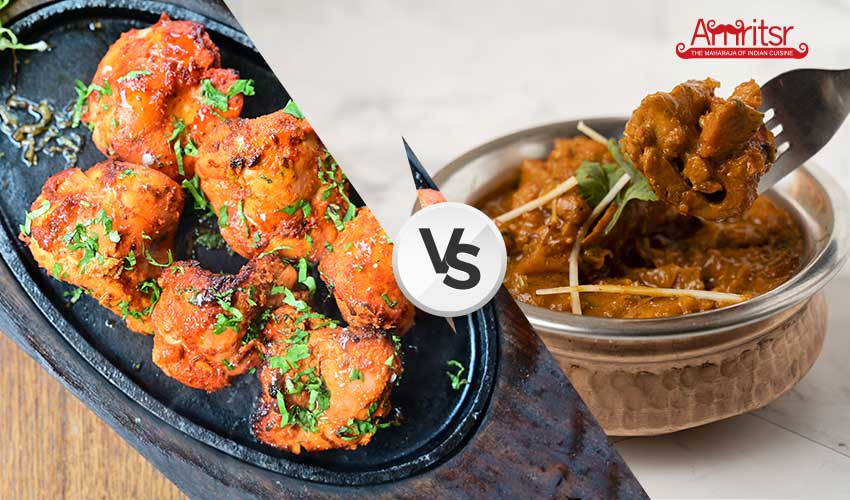 difference between chicken tikka and chicken tikka masala