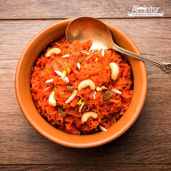 Gajar ka Halwa at Amritsr Restaurant