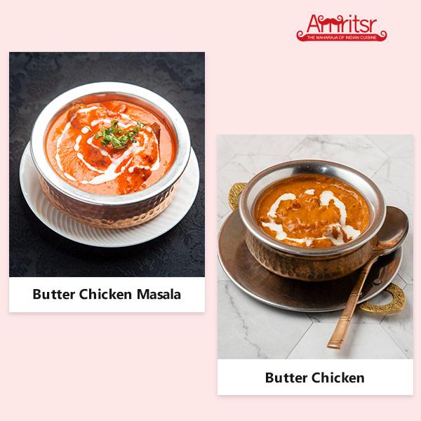 butter chicken masala or butter chicken