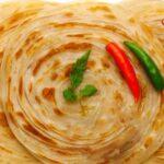 Paratha in plate